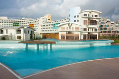 Turkish luxury hotel Stock Photography