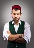 Turkish man`s portrait Stock Photo