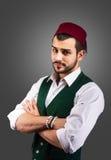 Turkish man`s portrait Royalty Free Stock Images