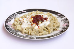 Turkish Manti Royalty Free Stock Images