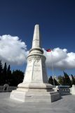 Turkish Martys Monument Royalty Free Stock Photos