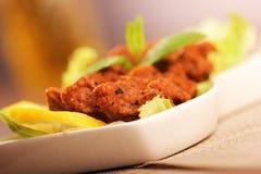 Turkish meatball, raw meat Royalty Free Stock Photos
