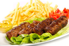 Turkish meatballs Stock Images