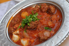 Turkish meatballs Royalty Free Stock Photography