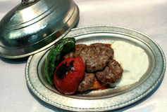 Turkish meatballs Royalty Free Stock Image