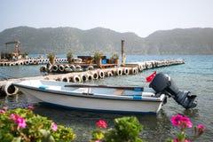 Turkish Mediterranean Coast Royalty Free Stock Photography