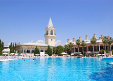 Turkish Mediterranean resort. Antalya, Turkey Royalty Free Stock Images
