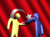 Turkish meeting Stock Images