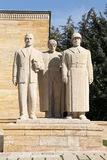 Turkish Men sculpture located at the entrance of the Road of Lio Stock Photography