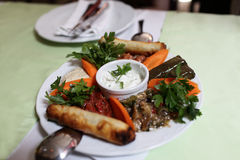 Turkish meze Royalty Free Stock Photography