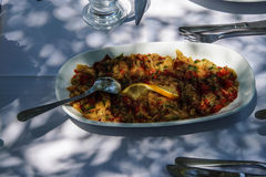 Turkish mezes appetizers Royalty Free Stock Photography