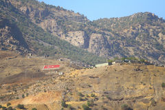 Turkish Military Outpost Royalty Free Stock Photos