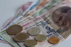 Turkish money Royalty Free Stock Images