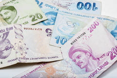Turkish Money Royalty Free Stock Photos