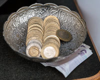 Turkish money Royalty Free Stock Photo
