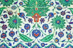Turkish mosaic at the Topkapi Palace Stock Photography