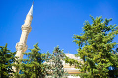 Turkish mosque Stock Photography
