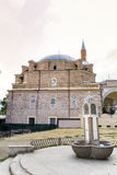 Turkish mosque Banya Bashi Mosque  in the center of the city of Sofia, Bulgaria Stock Photo