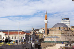 Turkish mosque in the center of the city of Sofia, Bulgaria Royalty Free Stock Images
