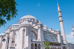 Turkish mosque dome Royalty Free Stock Images