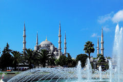 Turkish mosque Royalty Free Stock Image