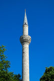Turkish mosque high minaret Royalty Free Stock Images