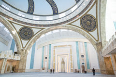 Turkish mosque interior Royalty Free Stock Images