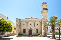 Turkish Mosque in Lerapetra Royalty Free Stock Photography