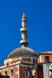 Turkish mosque with minaret Stock Photo