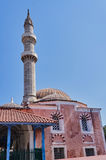 Turkish mosque with minaret Stock Images