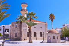 Turkish mosque Royalty Free Stock Photography