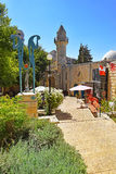 Turkish mosque in Safed, Upper Galilee, Israel royalty free stock images