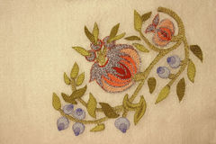 A turkish motif at needlework (III) Royalty Free Stock Images