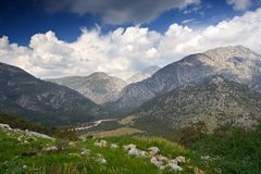 Turkish Mountains Royalty Free Stock Photography
