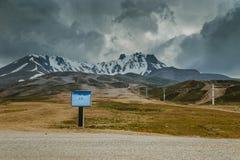 Turkish mountains Stock Photography