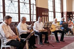 Turkish Musicians Stock Images