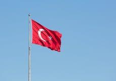 Turkish national flag Royalty Free Stock Photos