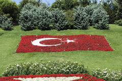 Turkish National Flag stock photos