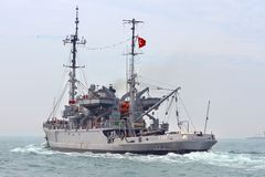 Turkish Navy TCG ISIN Royalty Free Stock Images