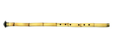 Turkish  Ney  reed flute. Turkish classical sufi music instrument. Turkish  Ney  reed flute. Turkish classical sufi music instrument isolated on white Royalty Free Stock Image