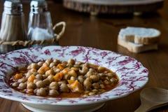 Turkish Nohut Pilaki / Chickpea Stew. royalty free stock photo