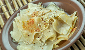 Turkish nuts noodles Stock Photo