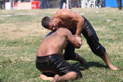 Turkish Oily Wrestling Stock Photo