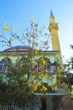 Turkish mosque in Antalya stock image