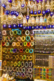 Turkish ornament shop Royalty Free Stock Images