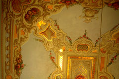 Turkish ornate ceiling Royalty Free Stock Photography