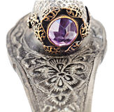 Turkish Ottoman ring Stock Image