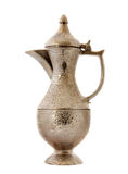 Turkish ottoman style metal pitcher Stock Images