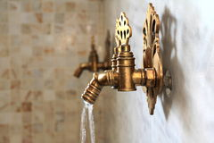Turkish ottoman style water tap Royalty Free Stock Photo