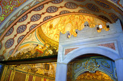 Turkish palace interior details Stock Photo